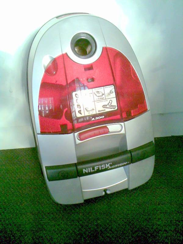 Nilfisk Action A300 (Red) and 400 (Lime) Vacuum Cleaner REPLACED BY ACTION PLUS - TVD The Vacuum Doctor
