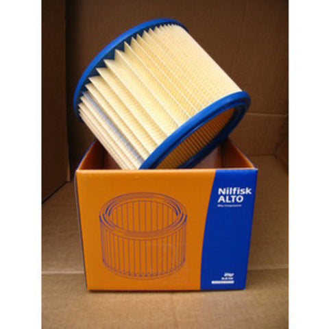 WAP Nilfisk-Alto Buddy 18 Vacuum Cleaner Wet and Dry Pleated Filter Cartridge - TVD The Vacuum Doctor
