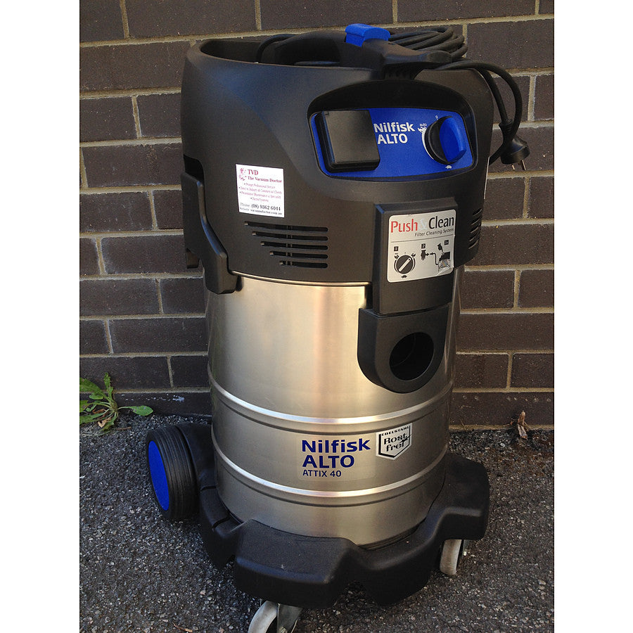 Nilfisk-ALTO ATTIX 40 Push2Clean Wet and Dry Vacuum Cleaner Replaced By ATTIX 44-2L IC