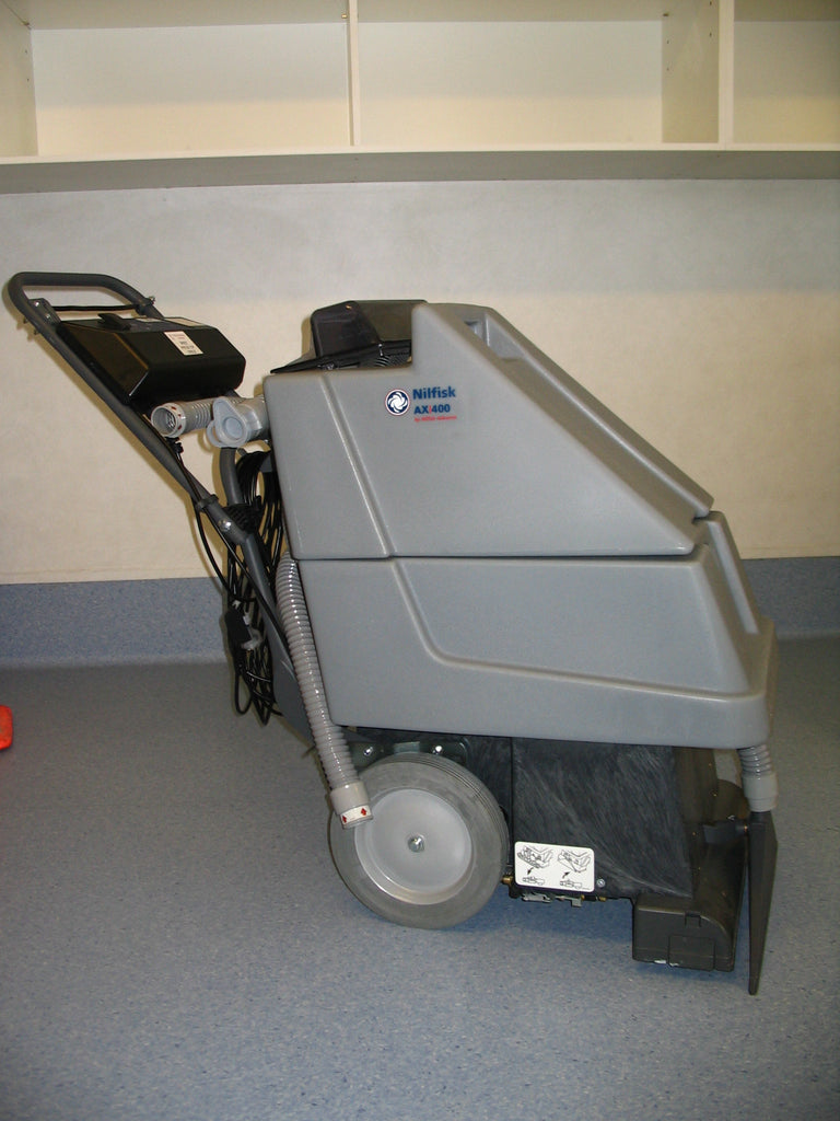 Nilfisk-Advance AX400 Carpet Extraction Machine Page For Your Information Only - TVD The Vacuum Doctor