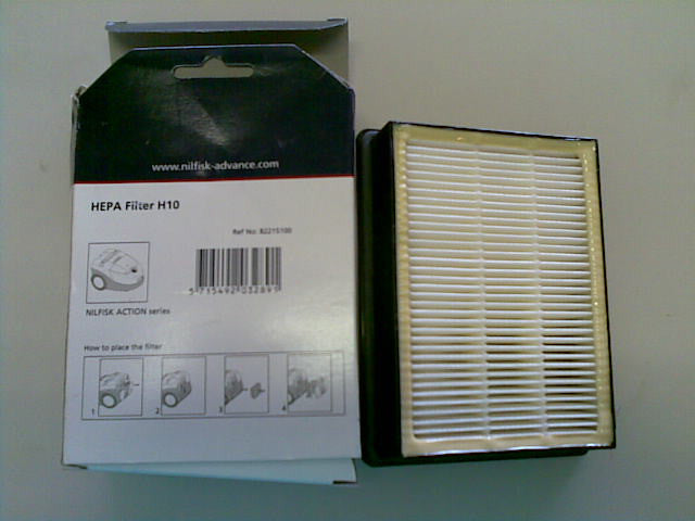 Nilfisk A100 A200 A300 A400 and Action Plus Vacuum Cleaner H10 Filter
