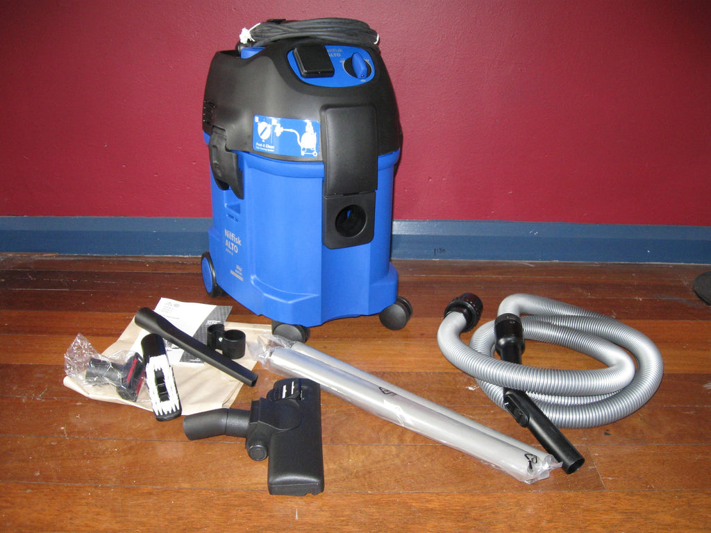 Nilfisk-ALTO ATTIX 3 360-21 Push2Clean Wet and Dry Vacuum Cleaner Replaced By Attix 33 - TVD The Vacuum Doctor