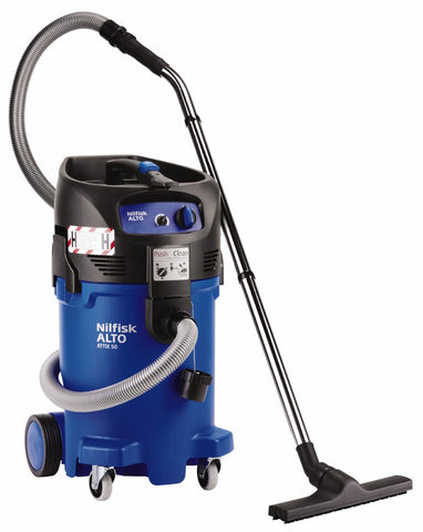 Nilfisk-ALTO ATTIX 50-0H Wet and Dry Safety Vacuum For Lead Dust NOT ASBESTOS - TVD The Vacuum Doctor