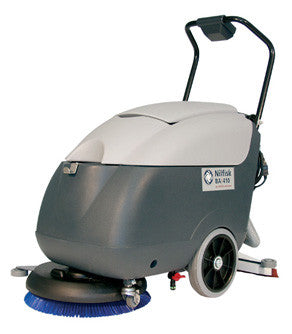 Nilfisk BA410S Floor Scrubber Brush Drive Motor and Gearbox - TVD The Vacuum Doctor
