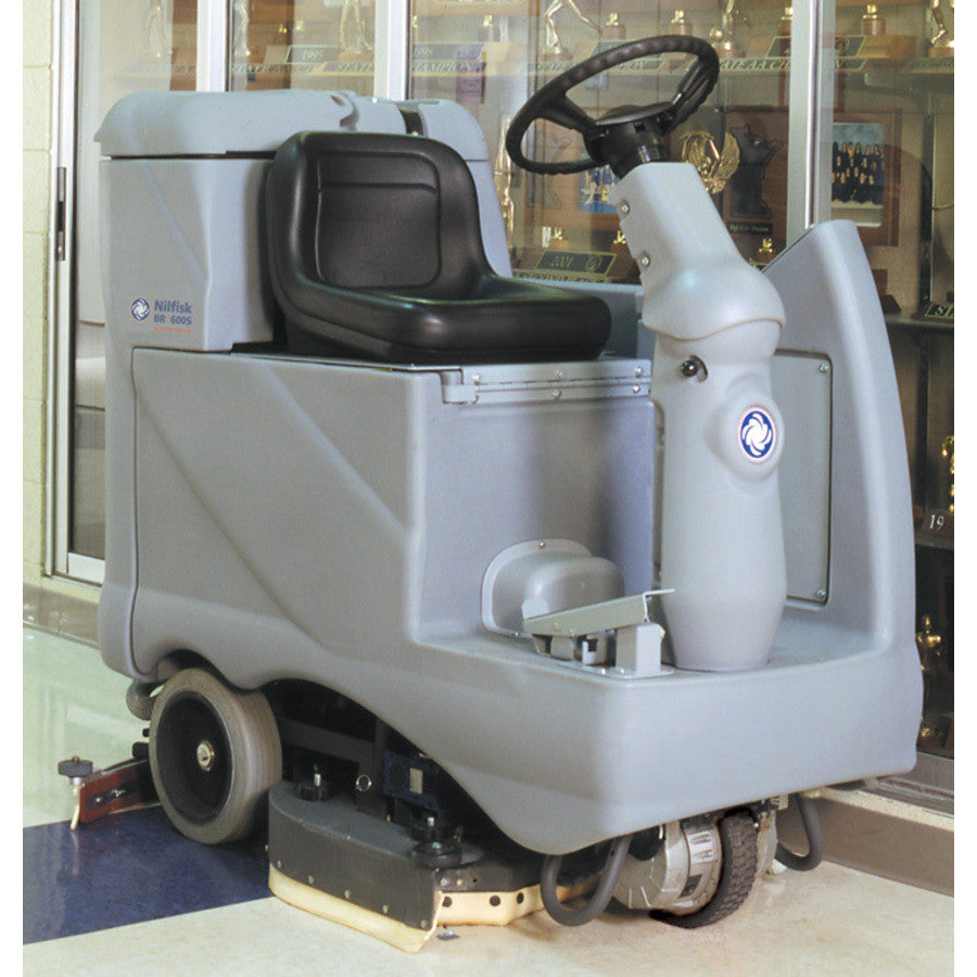 Nilfisk BR600S Rider Scrubber See BR752 For An Alternative Machine - TVD The Vacuum Doctor