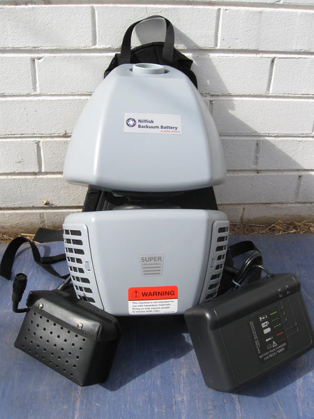 Nilfisk Bacuum Backpack Battery Powered Vacuum Cleaner Replaced By Gd5 The Vacuum