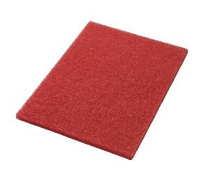 Glomesh Boost 32 CORAL RECTANGULAR Automatic Floor Scrubber Pads BOX of 5 - TVD The Vacuum Doctor