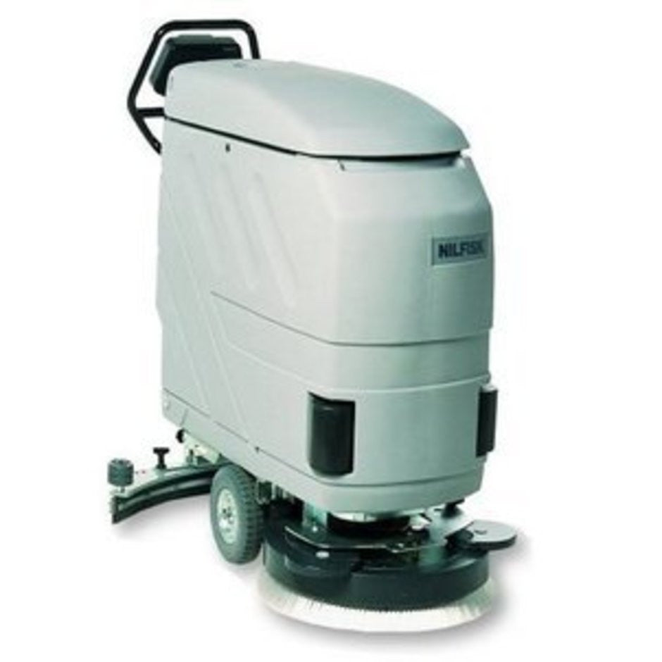 Nilfisk CA530 Electrically Operated Floor Scrubber This Page Is For Information Only - TVD The Vacuum Doctor