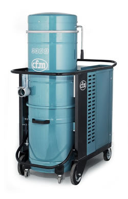 NilfiskCFM 3308 2.2 kW 3 Phase Industrial Vacuum Cleaner Replaced By T22 - TVD The Vacuum Doctor