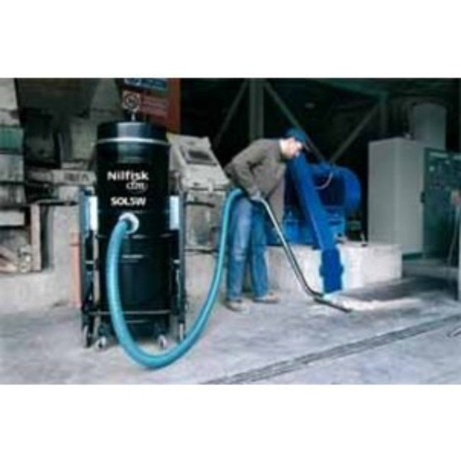 NilfiskCFM SOL5 4 kW 3Ph Industrial Vacuum Cleaner Replaced By T40 - TVD The Vacuum Doctor