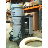 NilfiskCFM 3507 3 Phase 4 kW Industrial Vacuum Cleaner Replaced By CFM T40 - TVD The Vacuum Doctor