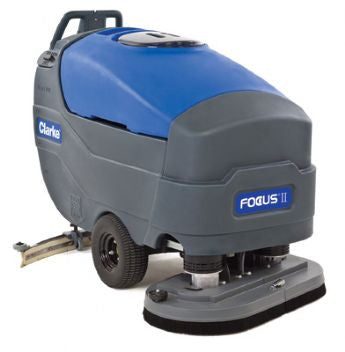 Nilfisk-ALTO Clarke Focus II Battery Operated Scrubber Drier - TVD The Vacuum Doctor