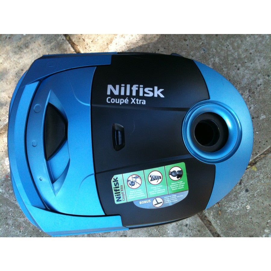 Nilfisk Coupe Parquet Xtra Range of Compact Domestic Vacuum Cleaners