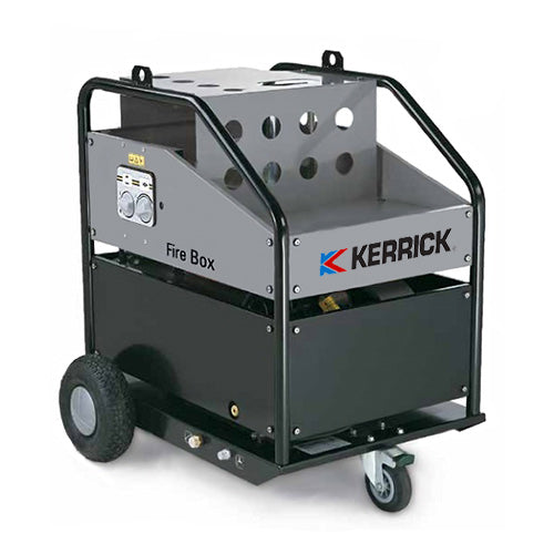 Kerrick Firebox Boiler Mobile 5000PSI Single Phase Electric In-Line Water Heater To 140C - TVD The Vacuum Doctor