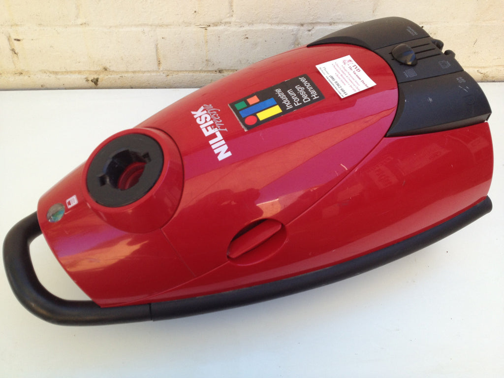 Nilfisk GM150 Freestyle Vacuum Cleaner In Fire Engine Red NO LONGER AVAILABLE - TVD The Vacuum Doctor