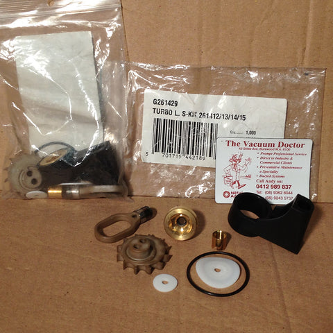 Gerni 5000A Pressure Washer Turbo Laser Nozzle Service Kit - TVD The Vacuum Doctor