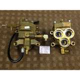 Gerni 6900A Hot Water Pressure Washer Pump Brass Cylinder Head Complete - TVD The Vacuum Doctor