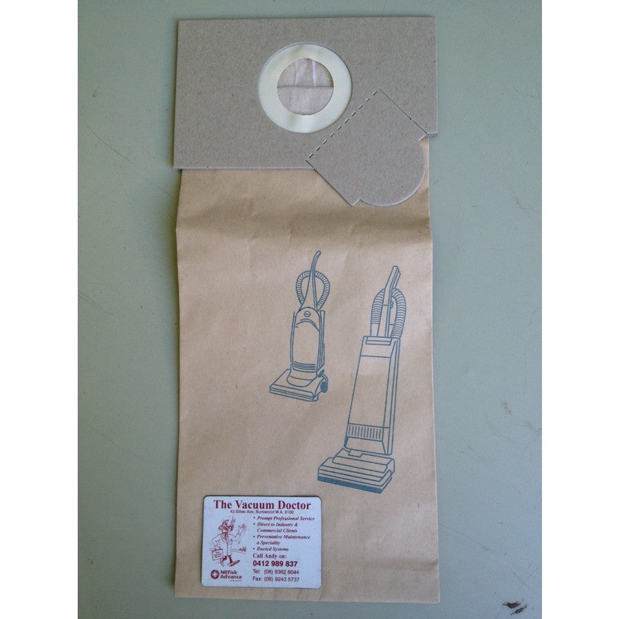 Cleanstar C17-36 By Nilco Upright Commercial Vacuum Cleaner Dustbags 5 Pack - The Vacuum Doctor