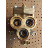 Gerni 660A Cold Water Pressure Washer Brass Pump Cylinder Head Complete