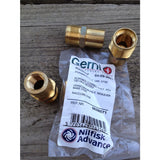 Gerni Screwed Brass Coupling For Adjustable Nozzle - TVD The Vacuum Doctor