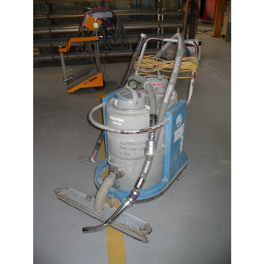 Nilfisk GM625 Twin Motor Industrial Vacuum Cleaner No Longer Available - TVD The Vacuum Doctor