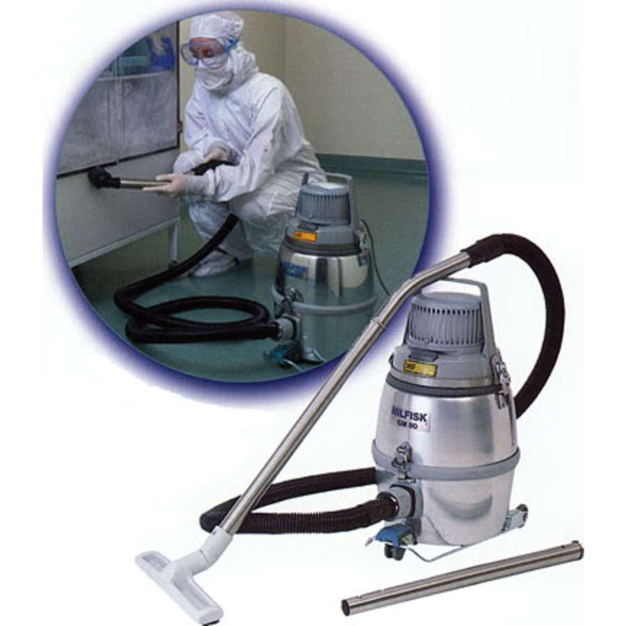 Nilfisk GM80 Economy Clean Room HEPA Filtered Vacuum Cleaner - TVD The Vacuum Doctor
