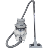 Nilfisk GM80B Iconic Polished Aluminium Commercial Vacuum Cleaner - TVD The Vacuum Doctor