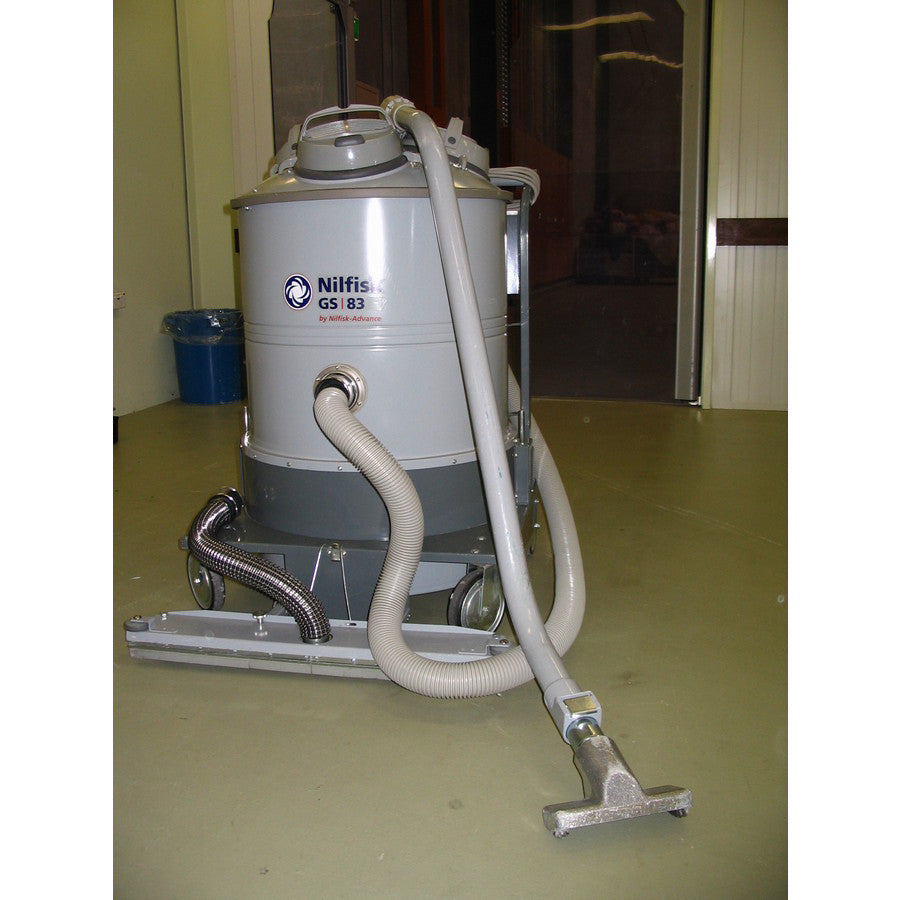 Nilfisk and Tellus GS83 and GM83 3 Motor Industrial Vacuum Cleaner OBSOLETE - TVD The Vacuum Doctor
