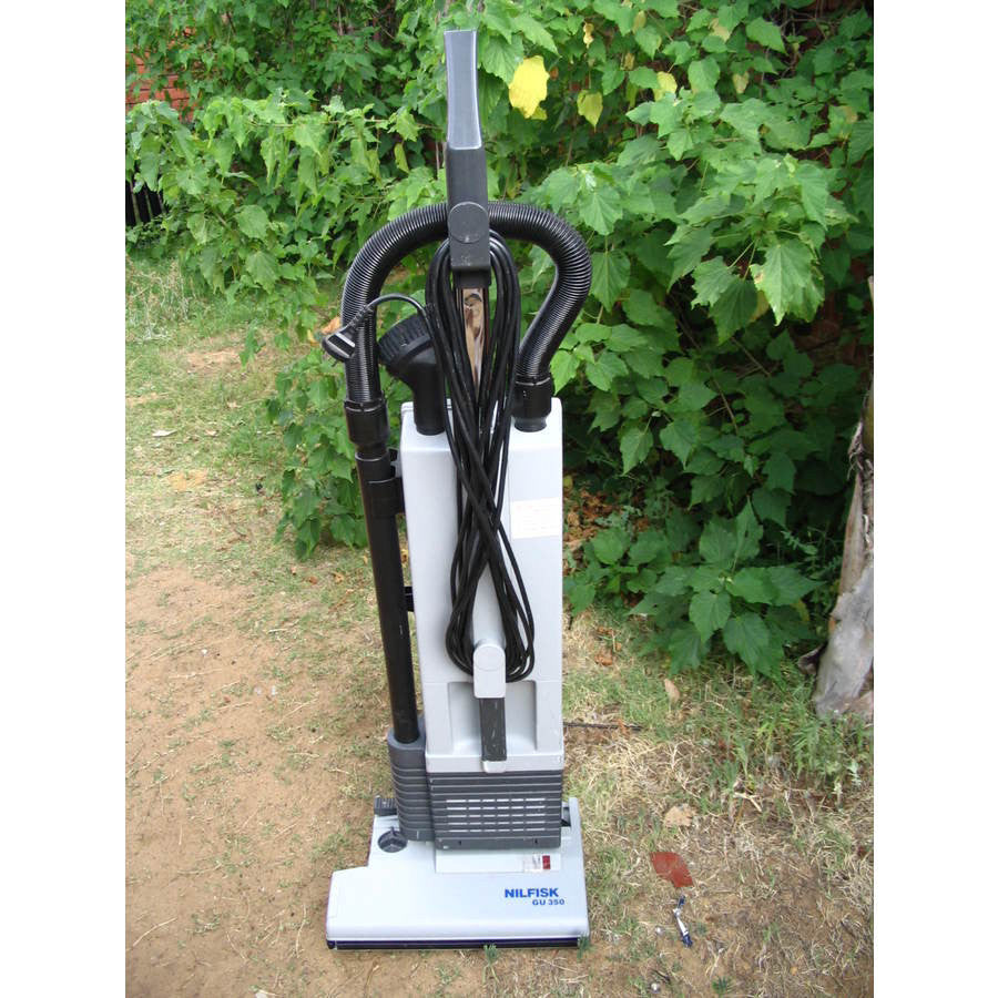 Nilfisk GU350 Upright Vacuum Cleaner No Longer Available Current Model Is VU500 - TVD The Vacuum Doctor
