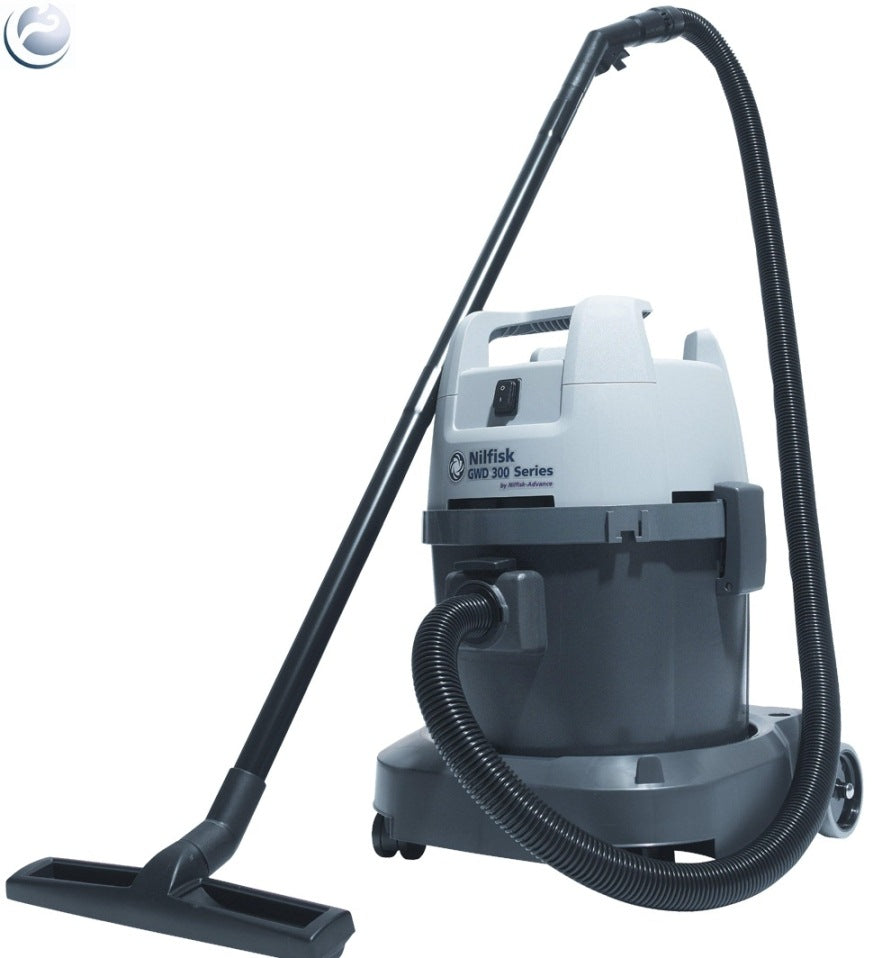 Nilfisk GWD320 Single Motor Wet and Dry Vacuum Cleaner Replaced By VL500 35B - TVD The Vacuum Doctor