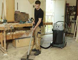 Nilfisk GWD375-2 Two Motor Wet and Dry Vacuum Cleaner Replaced By VL500 75-2 ERGO - TVD The Vacuum Doctor