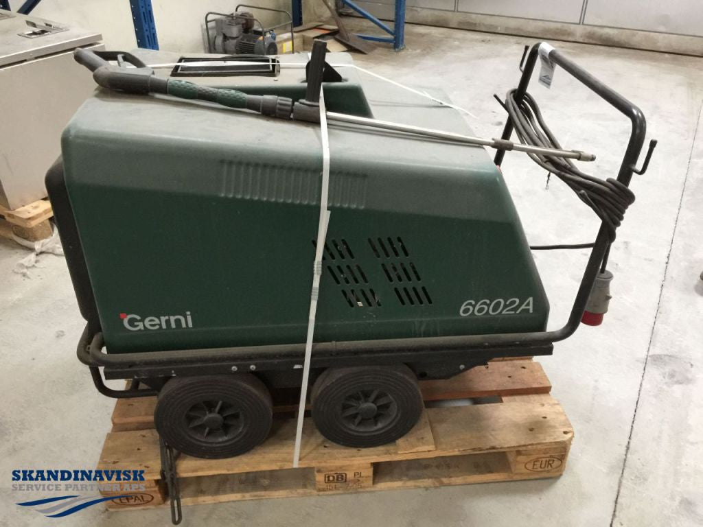 GERNI G-6600A Professional Hot Water Pressure Washer OBSOLETE Replaced By Neptune - TVD The Vacuum Doctor