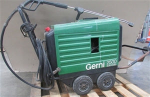 GERNI G-2200 G-2300 and G-2400 Professional Three Phase Hot Water Pressure Washer Page For Info Only