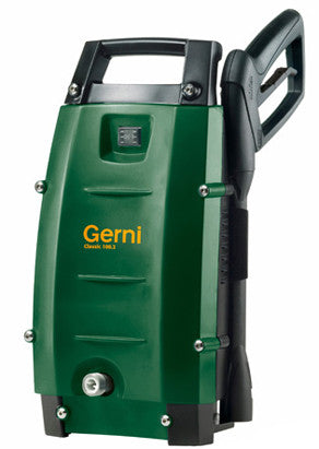 Gerni Classic 100.4 Light Domestic Use Pressure Washer Information Page Only - TVD The Vacuum Doctor