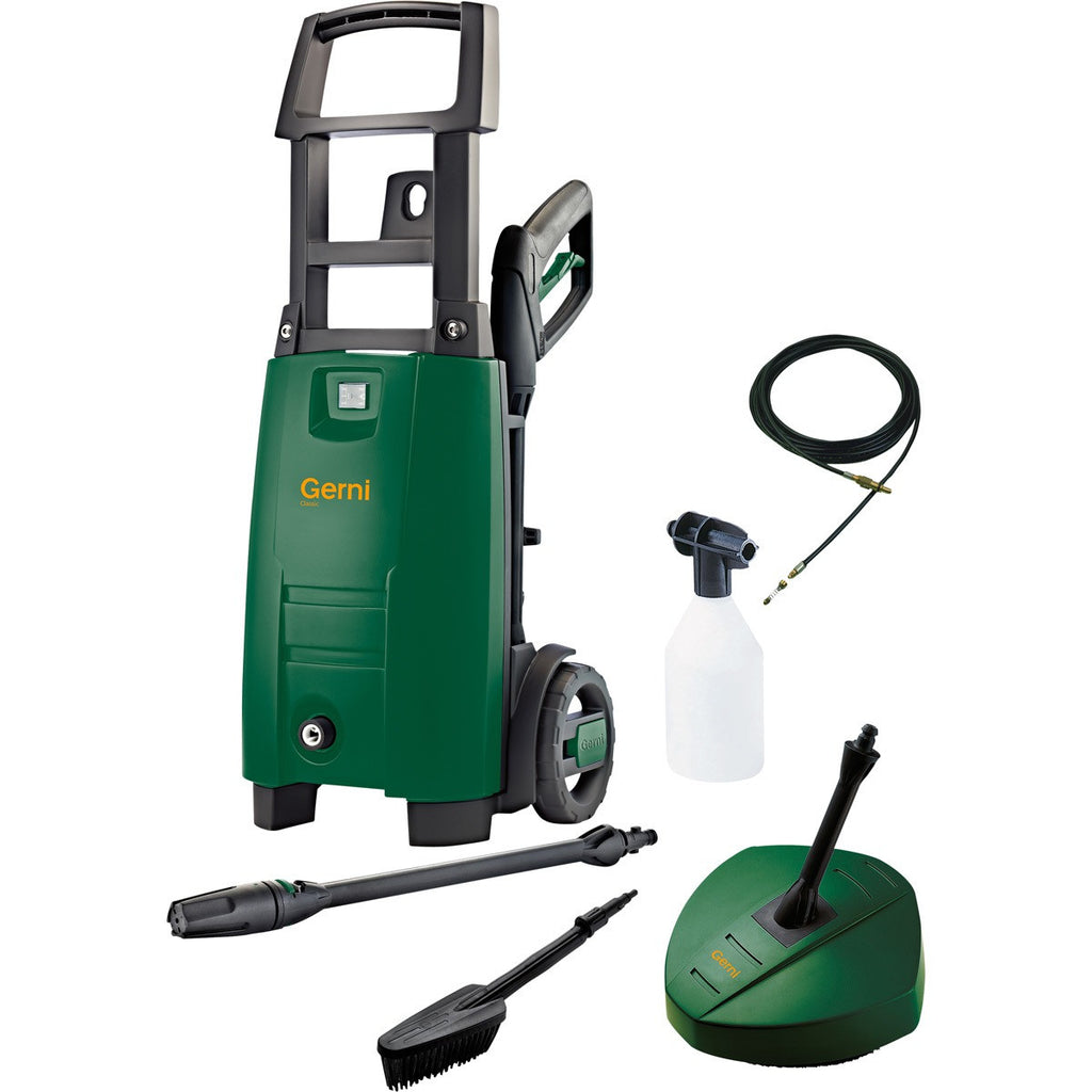 Gerni Classic 120.4 Light Domestic Use Pressure Washer Information Page Only - TVD The Vacuum Doctor