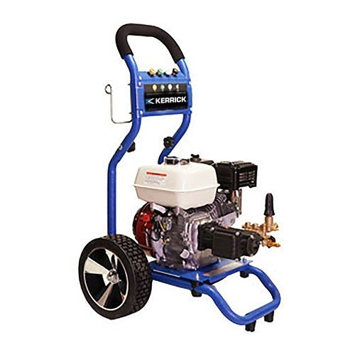Kerrick HCP3012 Petrol Powered Mobile 3000PSI Cold Water Pressure Washer With CAT Pump