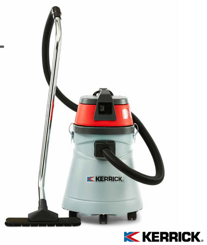 Kerrick KVAC27PE 50 Litre Heavy Duty Commercial Wet and Dry Vacuum Cleaner - TVD The Vacuum Doctor