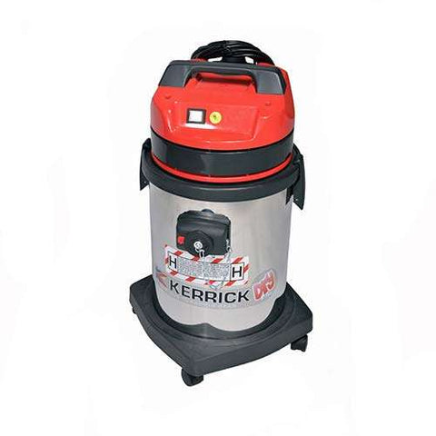 Kerrick VH Pulsar 515H 33L Single Motor TYPE H Safety Vacuum Cleaner For ASBESTOS - TVD The Vacuum Doctor