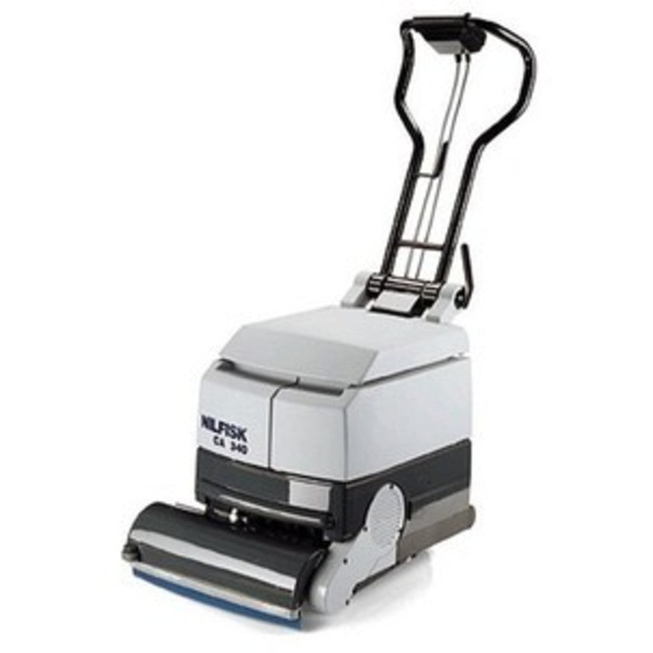 Nilfisk CA340 Electric Scrubber Side By Side Solution Tank - TVD The Vacuum Doctor
