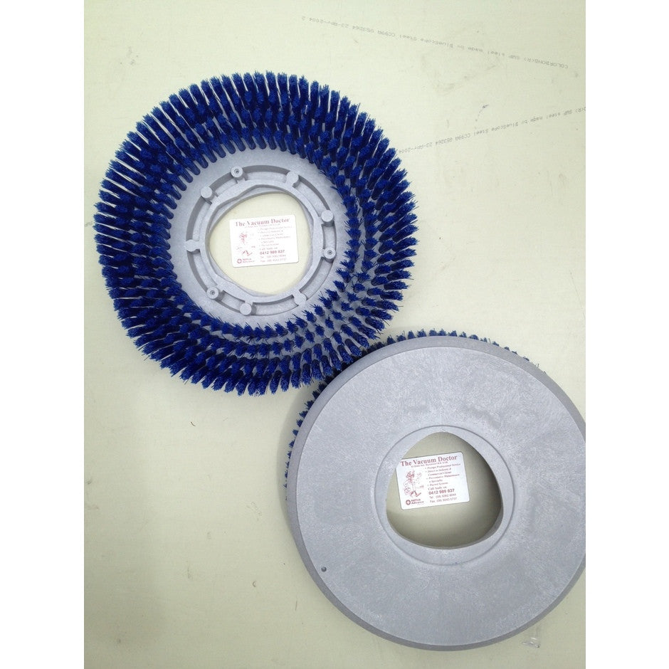 Nilfisk BR601 305mm Blue Prolite Scrub Brush Two Are Needed For A Set