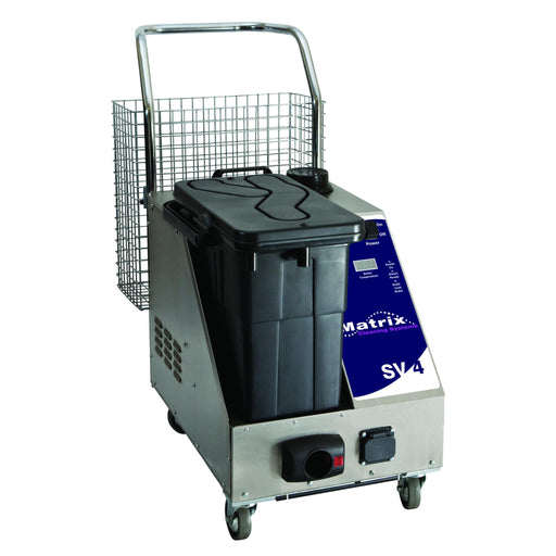 Matrix SV4 Commercial 4.5 Bar Steamer With Vacuum For Thorough Cleaning And Disinfection - TVD The Vacuum Doctor