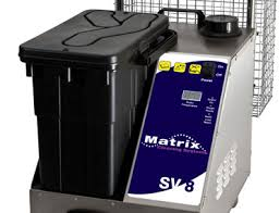 Matrix SV8 Commercial 8 Bar Steamer With Vacuum For Thorough Cleaning And Disinfection - TVD The Vacuum Doctor