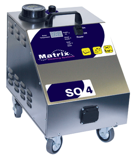 Matrix SO4 Commercial 4.5 Bar Steamer Without Vacuum For Cleaning And Disinfection - TVD The Vacuum Doctor