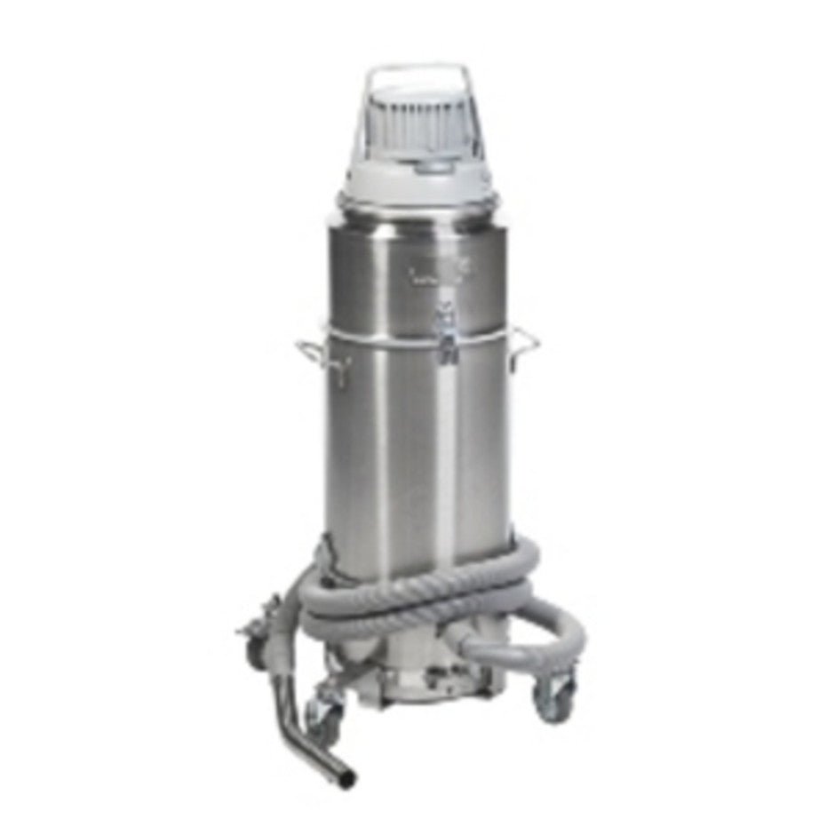 Nilfisk Stainless Steel Vacuum For Mercury Re-Claimation 8 Weeks Delivery From USA - TVD The Vacuum Doctor