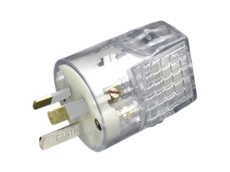 Clipsal 3 Pin Australian Re-wireable Safety GPO Plug