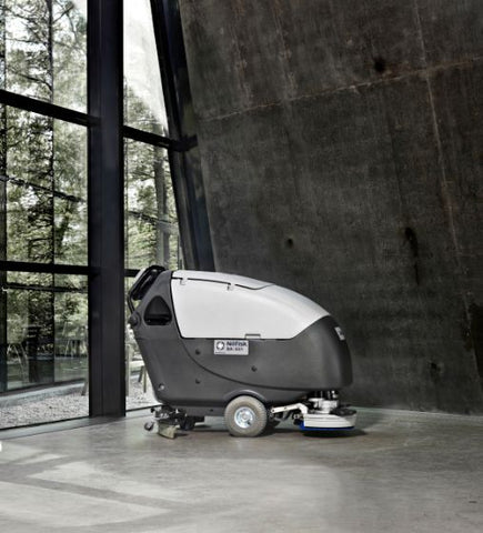 Nilfisk BA651 Battery Operated Automatic Floor Scrubber Drier - TVD The Vacuum Doctor