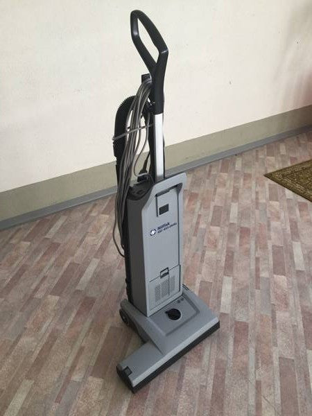 Nilfisk GU455 Dual Motor Upright Vacuum Cleaner Replaced By VU500 15 Inch