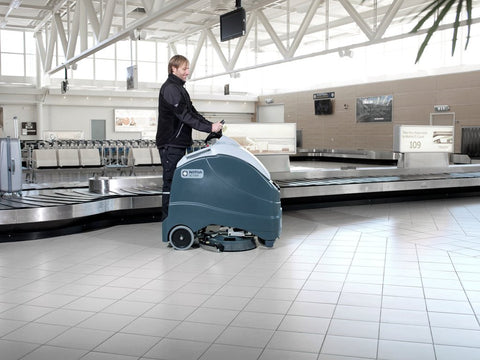 Nilfisk SC1500 X20R Battery Operated Stand-On Automatic Floor Scrubber Drier - TVD The Vacuum Doctor