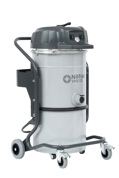Nilfisk Vhs120 Lc Compact Industrial Vacuum Cleaner With