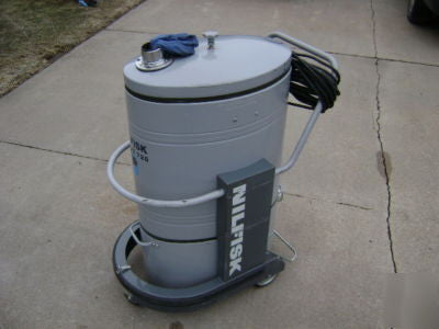 Nilfisk GB726 3 Phase Industrial Vacuum Cleaner No Longer Available - TVD The Vacuum Doctor